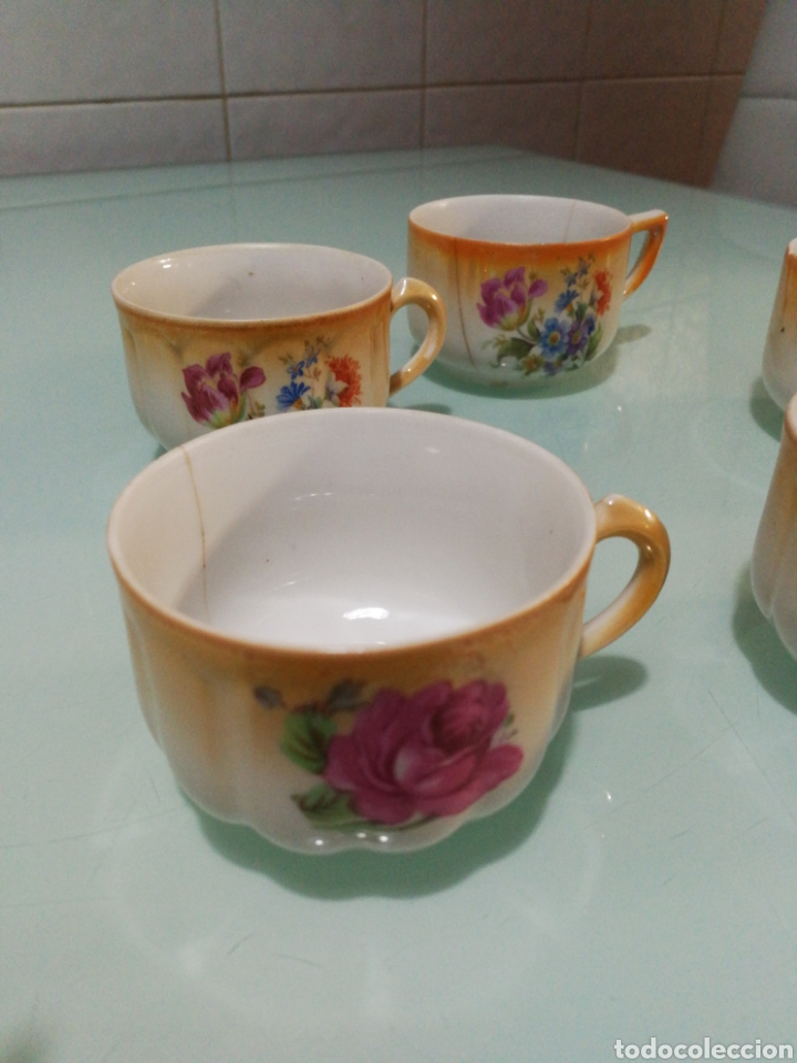 Antigüedades: Tazas de café Santa Clara. - Foto 3 - 145194237