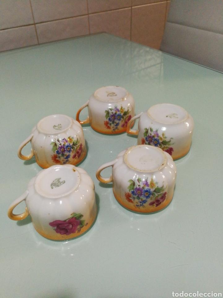 Antigüedades: Tazas de café Santa Clara. - Foto 5 - 145194237
