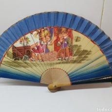 Antigüedades: ABANICO DE NIÑA. Lote 145203316