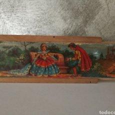Antigüedades: ANTIGUO PLUMIER MADERA AÑOS 30-40. Lote 145244492