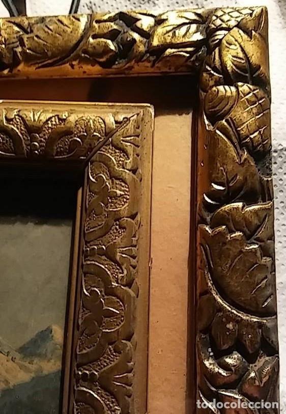 Antigüedades: 2 marcos antiguas , dorados y trabajados - Foto 6 - 145252850