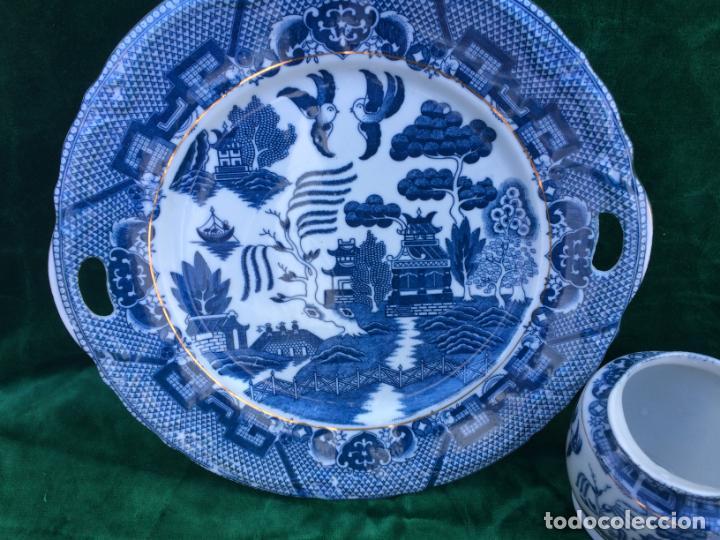 Antigüedades: JUEGO ANTIGUO DESAYUNO PORCELANA DE BAVARIA - Foto 10 - 145254990