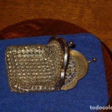 Antigüedades: ANTIGUO MONEDERO DE MALLA.. Lote 145267902