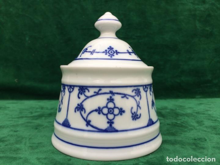 AZUCARERO EN PORCELANA DE BAVARIA SELLADO (Antigüedades - Porcelana y Cerámica - Alemana - Meissen)