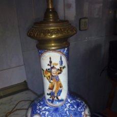 Antigüedades: ANTIGUA LAMPARA GRANDE 73 CM VER FOTOS Y DESCRIPCIÓN. Lote 145275513