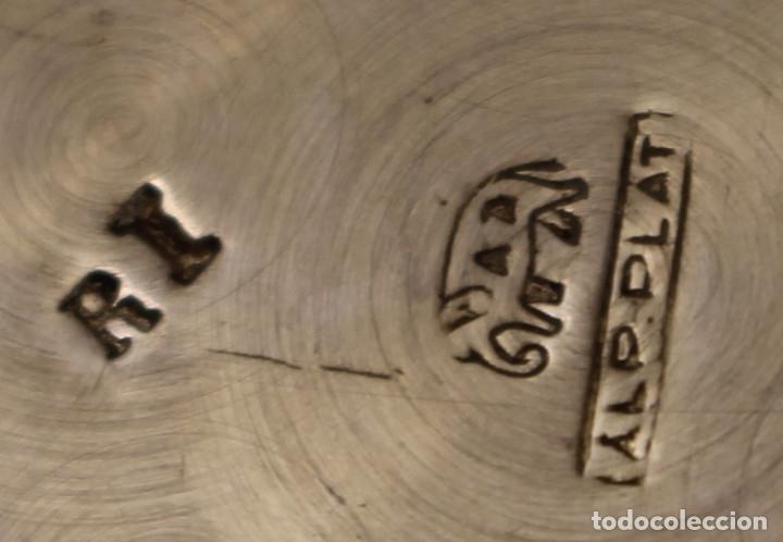 Antigüedades: sopera legumbrera en alpaca plateada - Foto 8 - 145302598