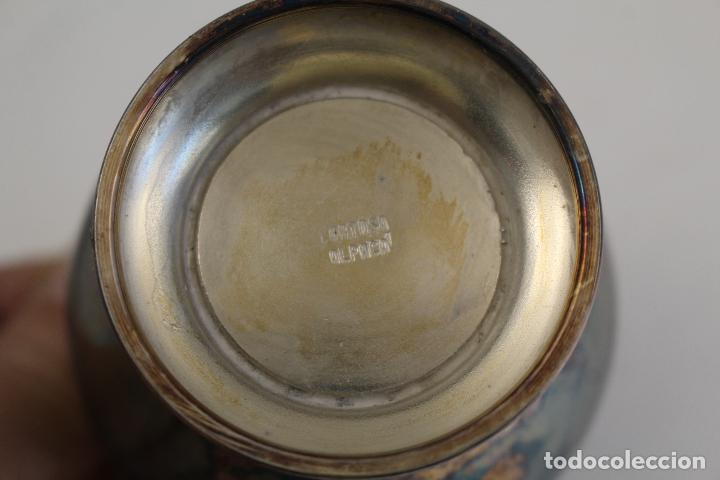 Antigüedades: sopera legumbrera en alpaca plateada - Foto 5 - 145302678