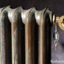 Antigüedades: RADIADOR LABRADO GLADSTONE O'ODONNELL. 5 ELEMENTOS. Lote 145309862