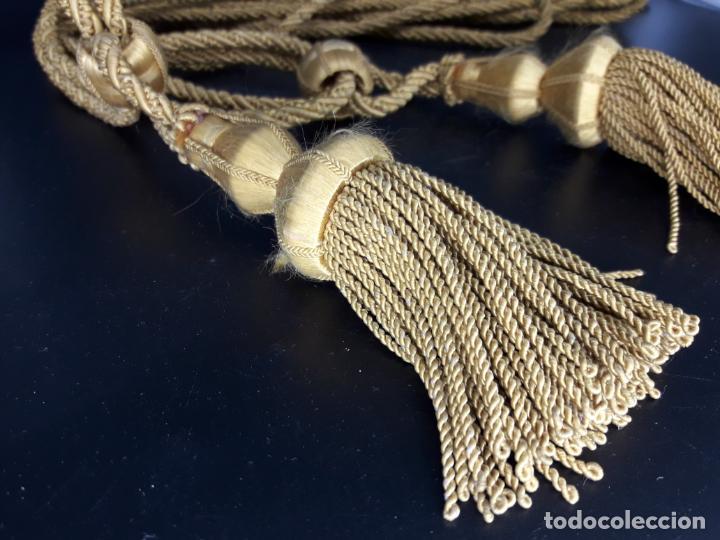 Antigüedades: Pareja de Alza paños para cortina - Foto 2 - 145312762