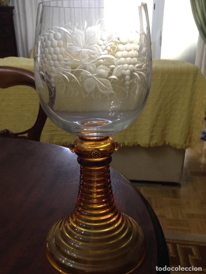 COPA CRISTAL (Antigüedades - Hogar y Decoración - Copas Antiguas)