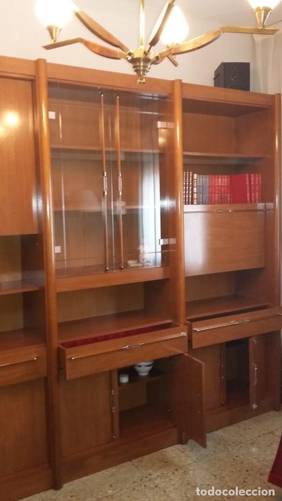 LIBRERÍA DE MADERA (Antigüedades - Muebles Antiguos - Revisteros Antiguos)