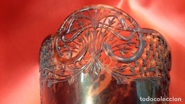 Antigüedades: ANTIGUA PEINETA. ESTILO MODERNISTA. GRAN TAMAÑO - Foto 4 - 145406898