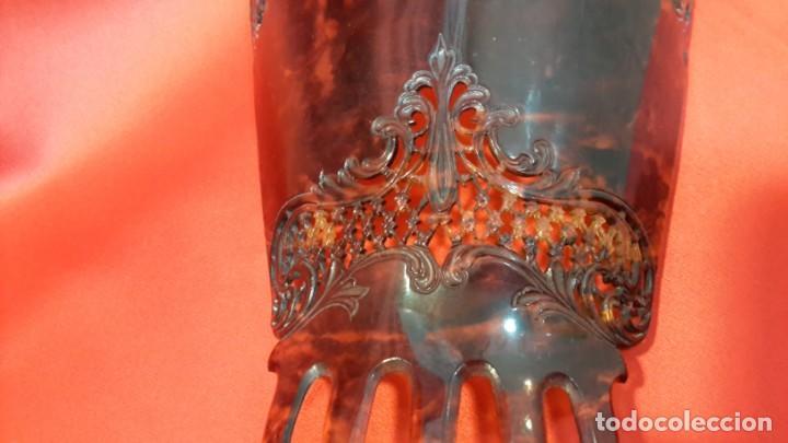 Antigüedades: ANTIGUA PEINETA. ESTILO MODERNISTA. GRAN TAMAÑO - Foto 5 - 145406898