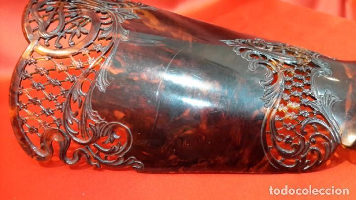Antigüedades: ANTIGUA PEINETA. ESTILO MODERNISTA. GRAN TAMAÑO - Foto 10 - 145406898
