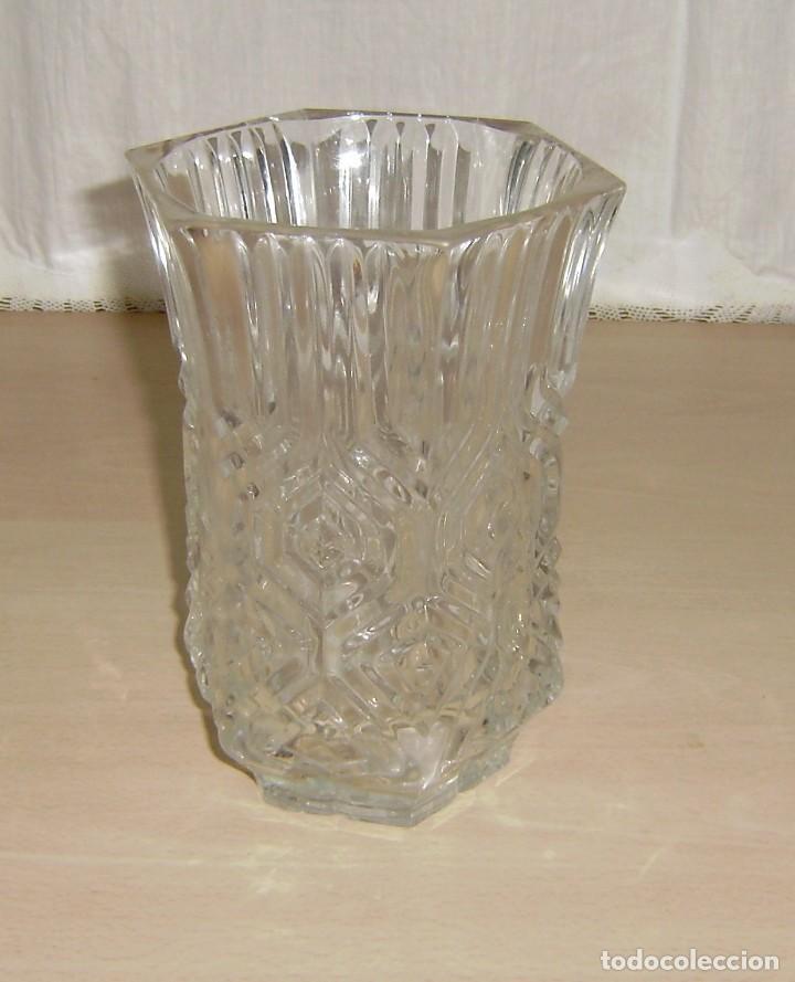 Antigüedades: Florero en cristal. - Foto 2 - 145407738