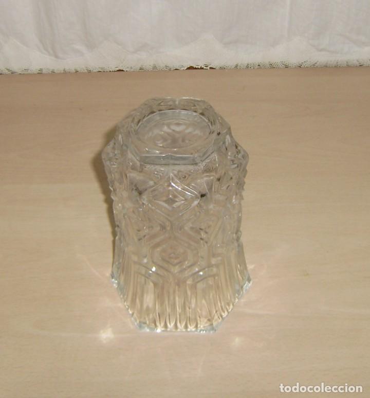 Antigüedades: Florero en cristal. - Foto 3 - 145407738