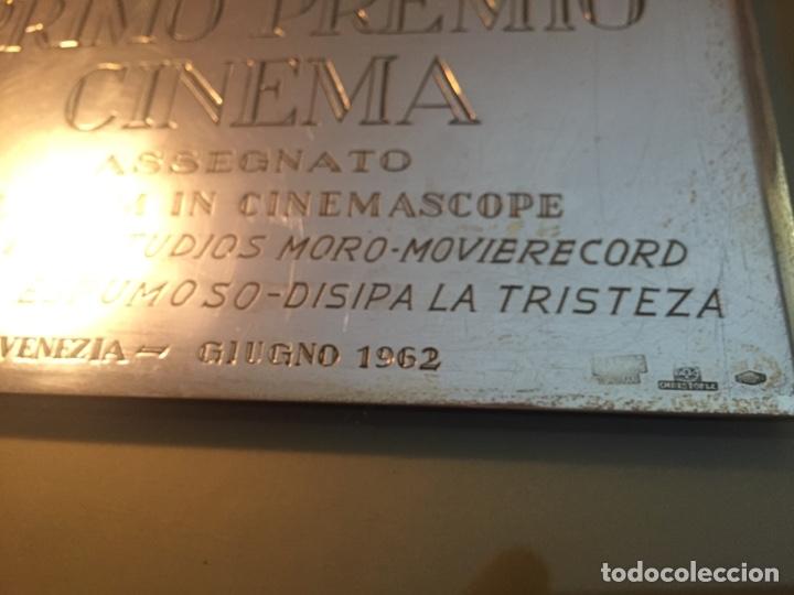 Antigüedades: Galardón Primer Premio IX Festival Internacional Venecia 1962 - Foto 3 - 145434704