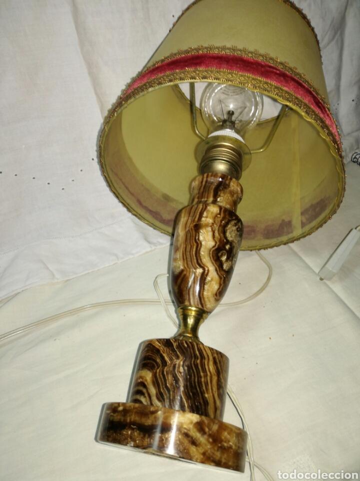 Antigüedades: Antigua lámpara en Alabastro - Foto 6 - 145435828