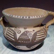 Antigüedades: JARRA BOTIJO DE CERAMICA IBERICA - BELLON TOTANA - 13CM. Lote 145462418