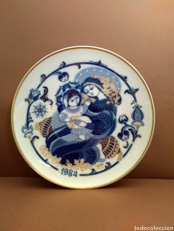PLATO NAVIDAD 1984. SANTA CLARA (Antigüedades - Porcelanas y Cerámicas - Santa Clara)