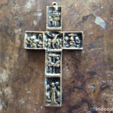 Antigüedades: CRUCIFIJO DE BRONCE 9CMX5CM.. Lote 145498834