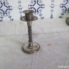 Antigüedades: ANTIGUO PORTAVELAS NO SE SI DE PLATA. Lote 145521830