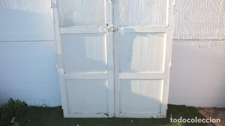 Antigüedades: Puerta cristalera antigua - Foto 3 - 145525638