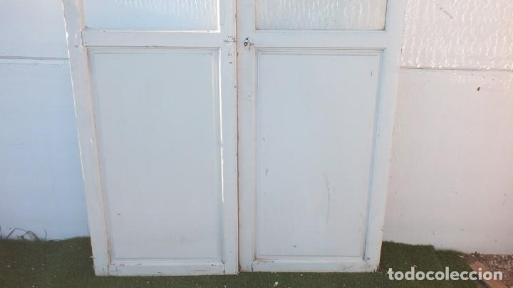 Antigüedades: Puerta cristalera antigua - Foto 4 - 145525638