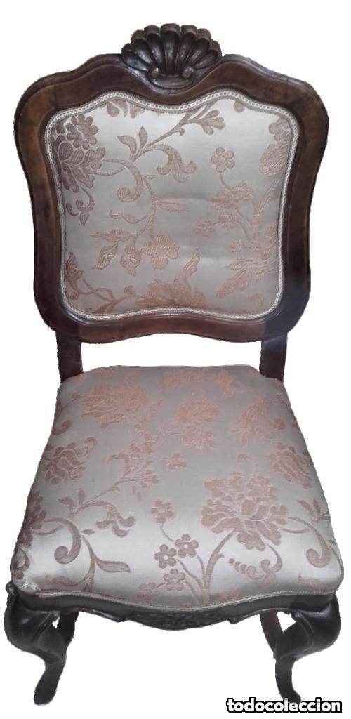 6 sillas y 2 sillones de comedor de estilo luis - Comprar Sillas ...