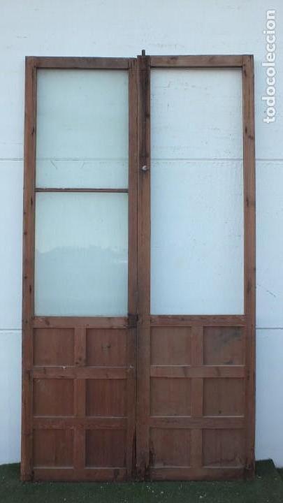 Antigüedades: Puerta cristalera antigua - Foto 2 - 145533538