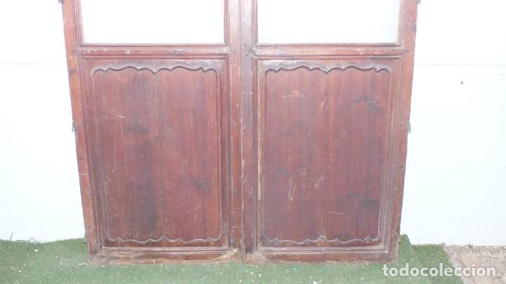 Antigüedades: Puerta cristalera antigua - Foto 3 - 145533538