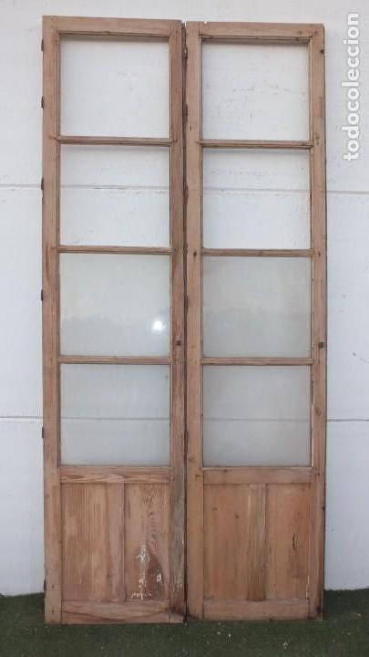 Antigüedades: Puerta cristalera antigua - Foto 2 - 145534882