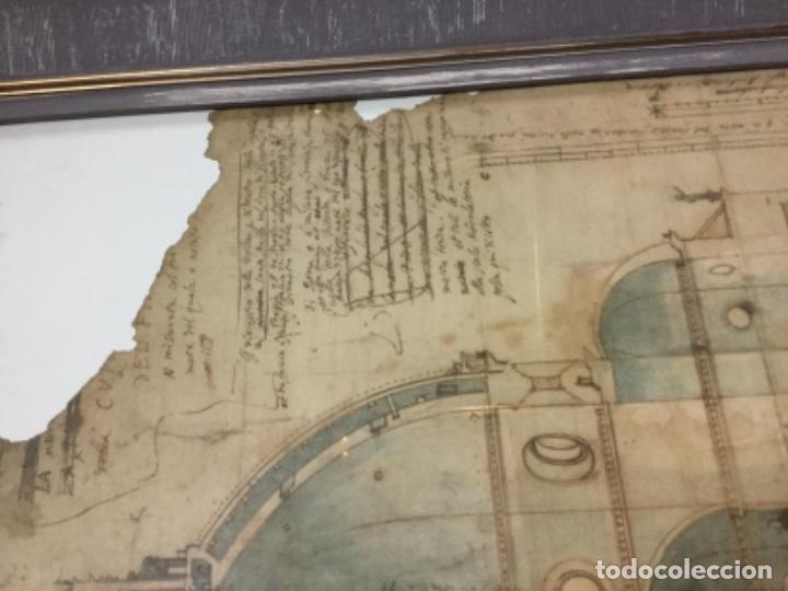 Antigüedades: Maravilloso Marco con poster bruneleschi - Foto 5 - 145538566