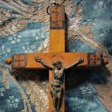 Antigüedades: CRUCIFIJO DE JERUSALEN, DE MEDIADOS DE SIGLO XX. Lote 145538662