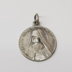 Antigüedades: BEATA TERESA DEL NIÑO JESUS PLATA. Lote 145547184