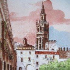 Antigüedades: AZULEJO PICKMAN MEDALLA DE ORO (PORCELANA). Lote 145569426
