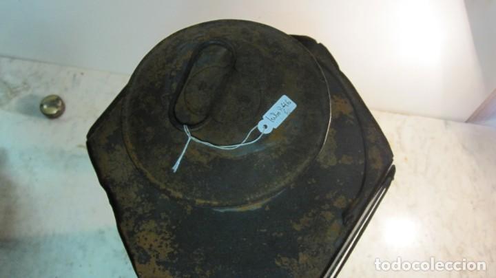Antigüedades: ANTIGUA LINTERNA O FAROL FERROVIARIO - Foto 2 - 145598046