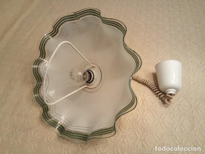 Antigüedades: Bonita lámpara de techo - Foto 2 - 145614102