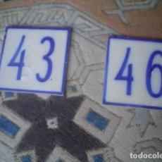 Antiquités: 2 ANTIGUOS AZULEJO LAMEIGO LISBOA XIX. Lote 145624850