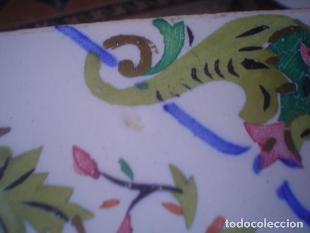 Antigüedades: muy antiguo y grande azulejo manises xix ? - Foto 6 - 145629262