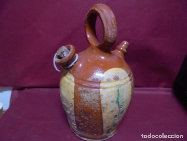 MAGNIFICO ANTIGUO CANTI EN CERAMICA VIDRIADA DEL SIGLO XIX (Antigüedades - Porcelanas y Cerámicas - Catalana)