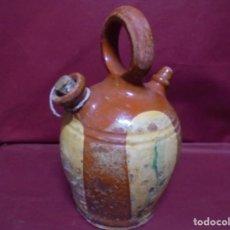 Antigüedades: MAGNIFICO ANTIGUO CANTI EN CERAMICA VIDRIADA DEL SIGLO XIX. Lote 145634454