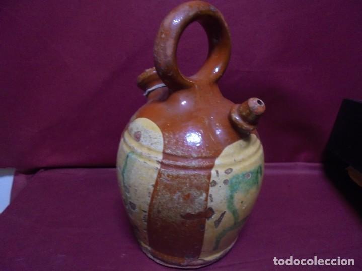 Antigüedades: magnifico antiguo canti en ceramica vidriada del siglo XIX - Foto 2 - 145634454