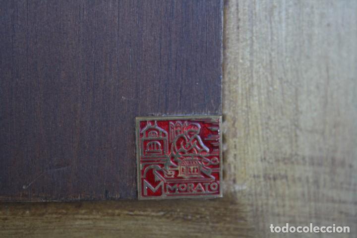 Antigüedades: MODEST MORATO (1909 - 1993) EXTRAORDINARIO ESMALTE , SANTA CENA . - Foto 5 - 145705630