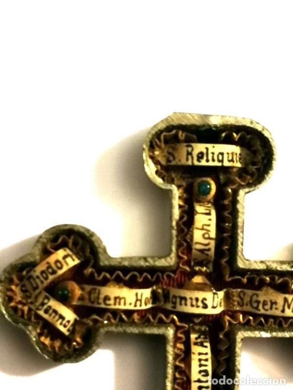 Antigüedades: RELICARIO EN METAL, MADERA Y BRONCE - Foto 10 - 132462082