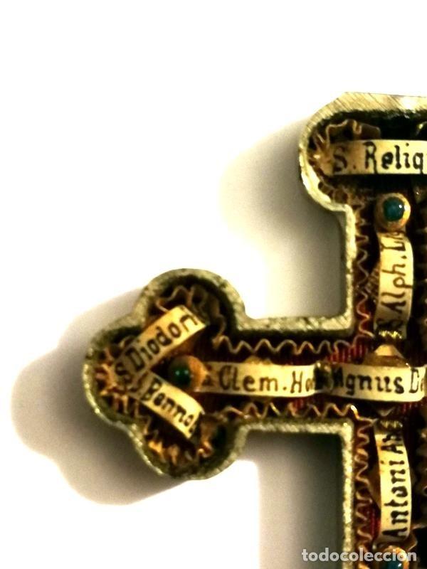 Antigüedades: RELICARIO EN METAL, MADERA Y BRONCE - Foto 14 - 132462082