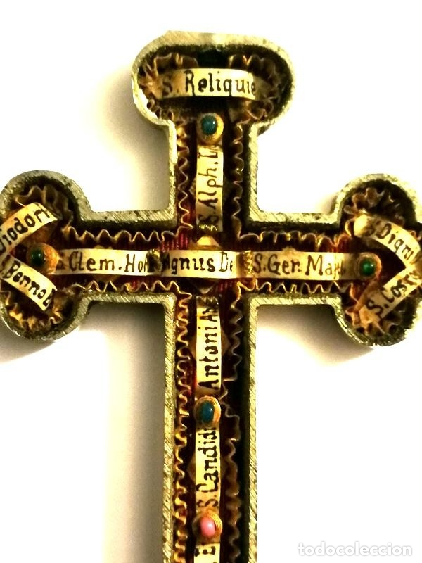 Antigüedades: RELICARIO EN METAL, MADERA Y BRONCE - Foto 16 - 132462082