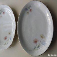 Antiguidades: BANDEJAS DE PORCELANA SANTA CLARA M.A.H. VIGO. Lote 145755094