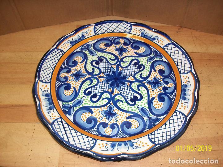 PLATO DE CERAMICA (Antigüedades - Porcelanas y Cerámicas - Manises)