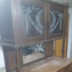Antigüedades: BUFET DE ENTRE 1900-1920. Lote 145835582